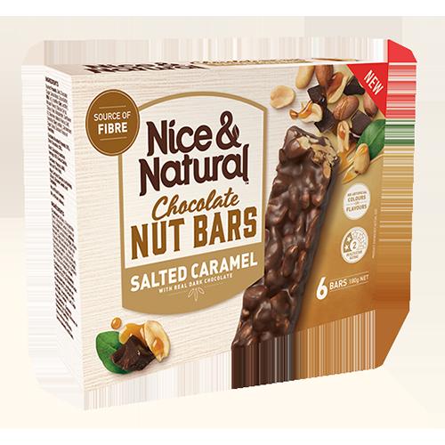 Salted Caramel Chocolate Nut Bar product image